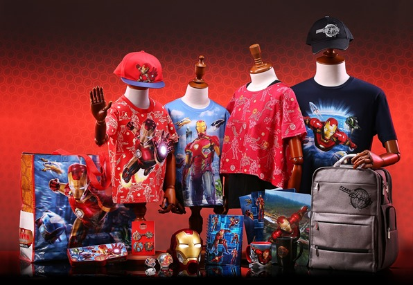 Hong Kong Disneyland_Iron Man themed Merchandise